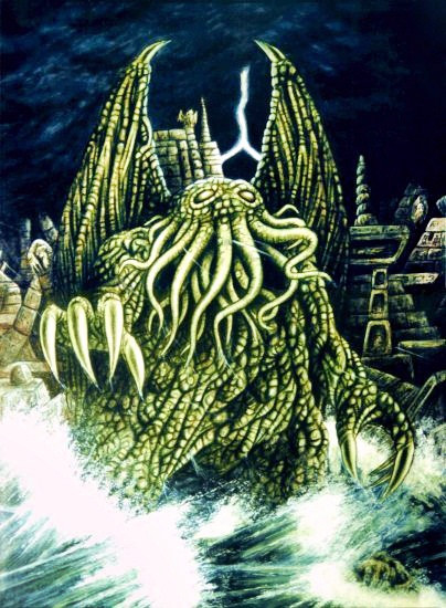 [t]Cthulhu[/t] [s]Fot. BenduKiwi - authorupload, CC BY-SA 3.0, Wikipedia[/s]