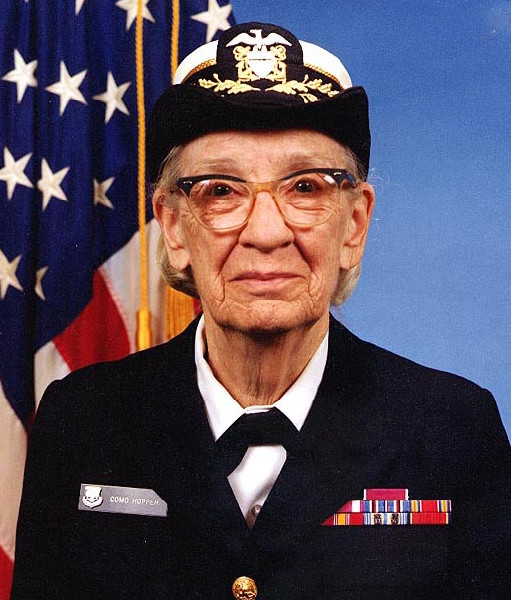[t]Grace Hopper[/t] [s]Fot. Wikipedia[/s]